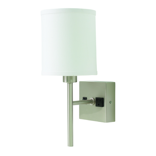 House of Troy Lighting House Of Troy Decorative Wall Lamp Satin Nickel Wall Lamp WL625-SN