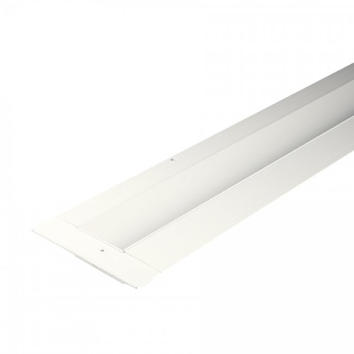 WAC Lighting WAC InvisiLED 96-Inch White Recessed Channel With Angled Reflector LED-T-RCH2-WT