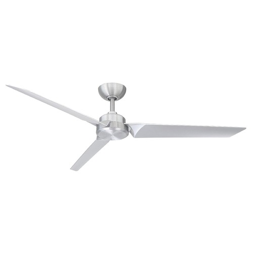 Modern Forms by WAC Lighting Modern Forms Brushed Aluminum 62-Inch Smart Ceiling Fan FR-W1910-62-BA