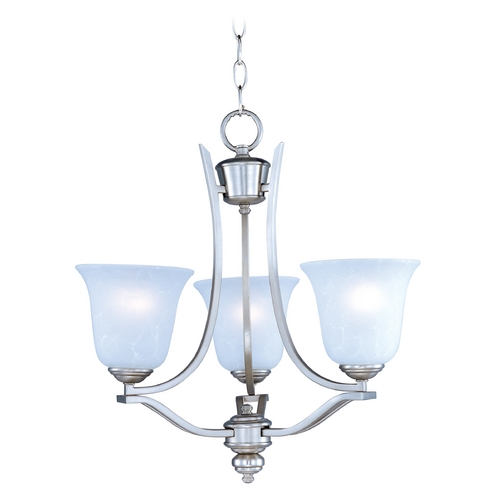 Maxim Lighting Maxim Lighting Madera Satin Silver Mini-Chandelier 10174ICSS