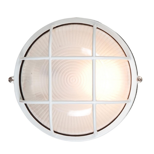 Access Lighting Access Lighting Nauticus White Outdoor Wall Light C20294WHFSTEN1113BS