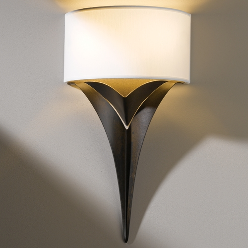 Hubbardton Forge Lighting Hubbardton Forge Lighting Calla Bronze Sconce 205315-05-465