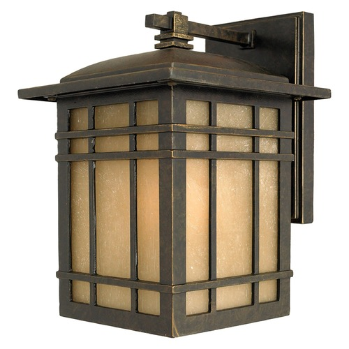 Quoizel Lighting Quoizel Hillcrest Imperial Bronze Outdoor Wall Light HC8507IBFL