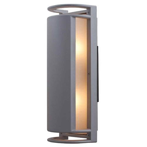 Access Lighting Access Lighting Poseidon Satin Nickel LED Outdoor Wall Light 20343LED-SAT/RFR