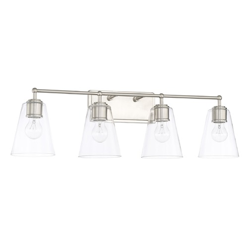 Capital Lighting Capital Lighting Brushed Nickel Bathroom Light 121741BN-431
