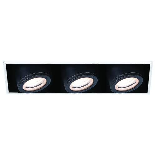 WAC Lighting Wac Lighting Silo Multiples White / Black LED Recessed Kit MT-4310L-940-WTBK