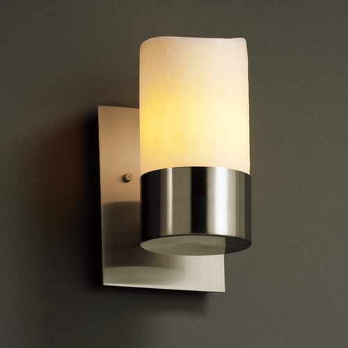 Justice Design Group Justice Design Group Candlearia Collection Sconce CNDL-8761-14-CREM-NCKL