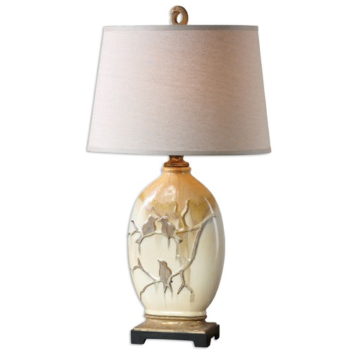 Uttermost Lighting Uttermost Pajaro Aged Ivory Lamp 26498
