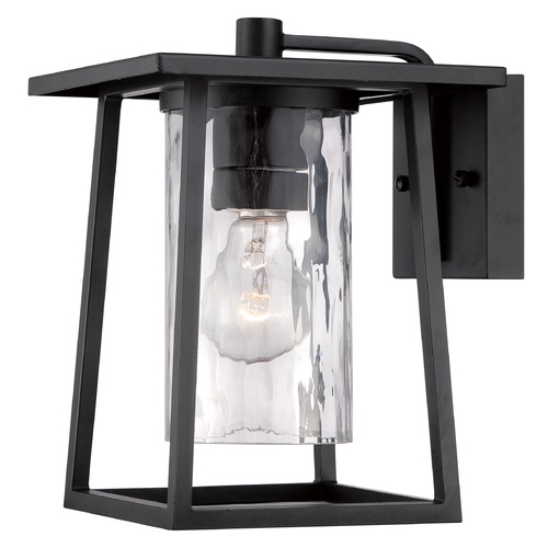 Quoizel Lighting Quoizel Lodge Mystic Black Outdoor Wall Light LDG8408KFL