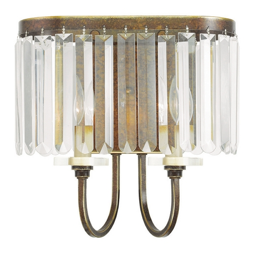 Livex Lighting Livex Lighting Ashton Hand Painted Palacial Bronze Sconce 50542-64