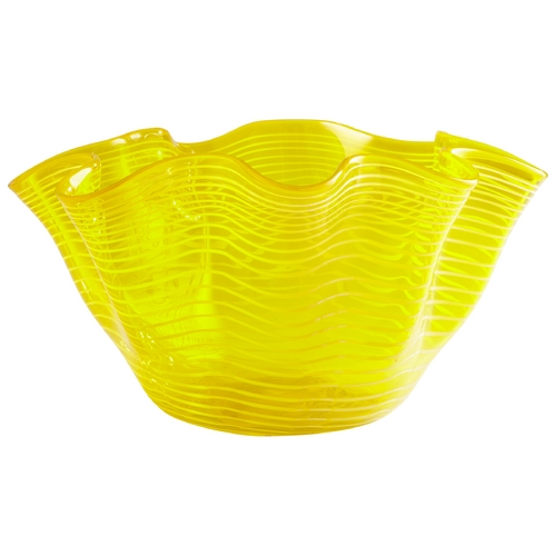 Cyan Design Cyan Design Scallop Yellow Bowl 05863