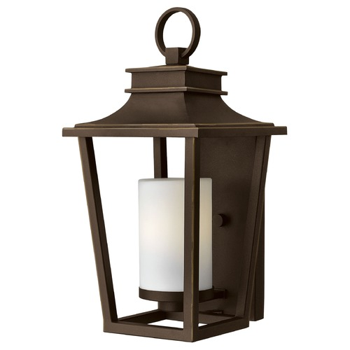 Hinkley Lighting Hinkley Lighting Sullivan Oil Rubbed Bronze Outdoor Wall Light 1744OZ
