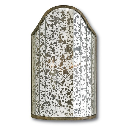 Currey and Company Lighting Currey and Company Astral Pyrite Bronze/raj Mirror Sconce 5205