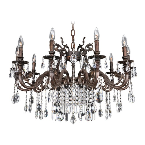 Allegri Lighting Avelli 10 Light Crystal Chandelier 025650-013-FR001