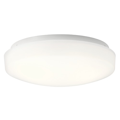 Kichler Lighting Kichler Lighting Ceiling Space White LED Flushmount Light 10766WHLED