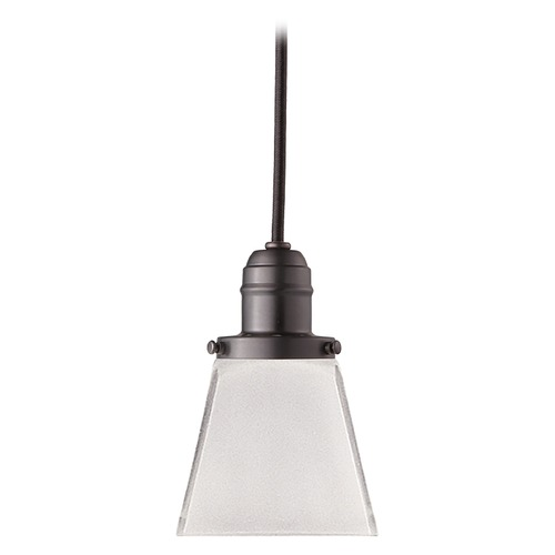 Hudson Valley Lighting Mini-Pendant Light with White Glass 3102-OB-436