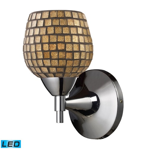Elk Lighting Elk Lighting Celina Polished Chrome LED Sconce 10150/1PC-GLD-LED