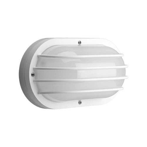 Progress Lighting Progress Outdoor Wall Light with White in White Finish P7338-30EBWB