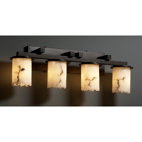 Justice Design Group Justice Design Group Lumenaria Collection Bathroom Light FAL-8774-12-DBRZ