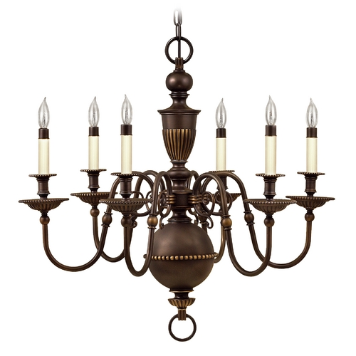 Hinkley Lighting Chandelier in Olde Bronze Finish 4416OB