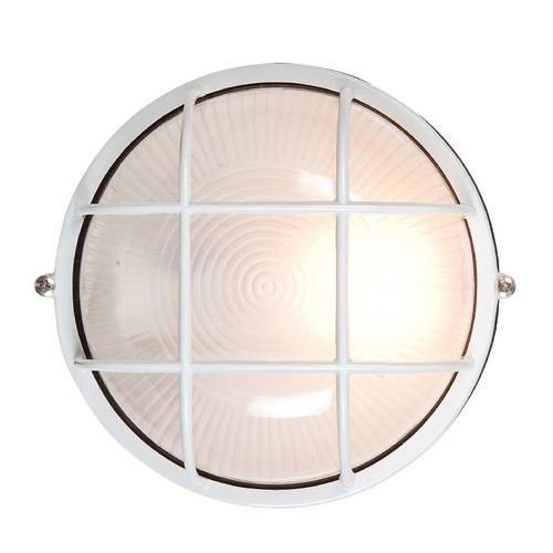 Access Lighting Access Lighting Nauticus Satin Nickel Outdoor Wall Light C20296SATFSTEN1118BS