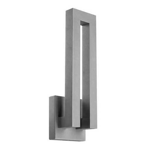 Modern Forms by WAC Lighting Modern Forms Forq Graphite LED Outdoor Wall Light WS-W1718-GH