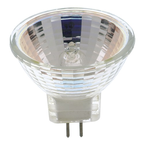 Satco Lighting MR-11 Halogen Light Bulb Bi-Pin Flood 30 Degree Beam Spread 2900K 12V S3444