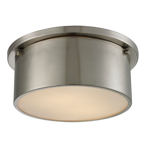 Elk Lighting Elk Lighting Simpson Brushed Nickel Flushmount Light 11820/2