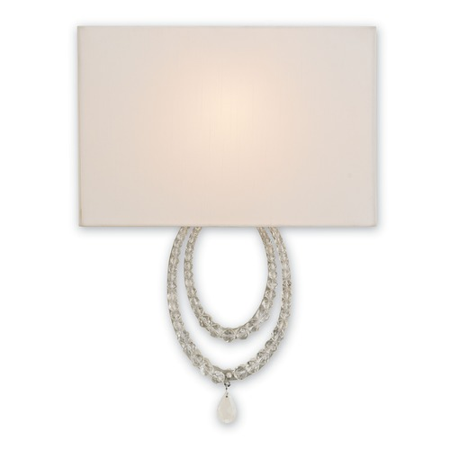 Currey and Company Lighting Currey and Company Esperanza Silver Granello Sconce 5210
