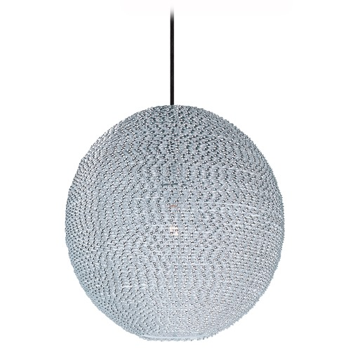 Maxim Lighting Maxim Lighting Twisp Polished Chrome Pendant Light with Globe Shade 12194PC