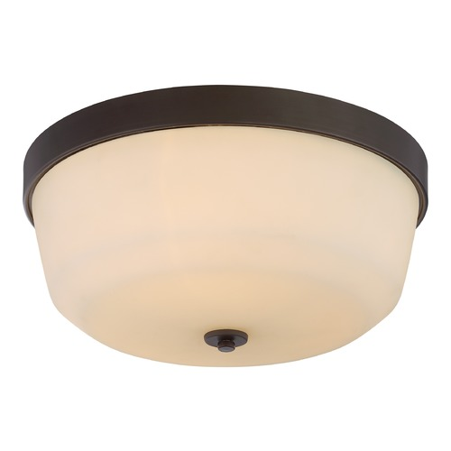 Nuvo Lighting Nuvo Lighting Laguna Aged Bronze Flushmount Light 60/5924