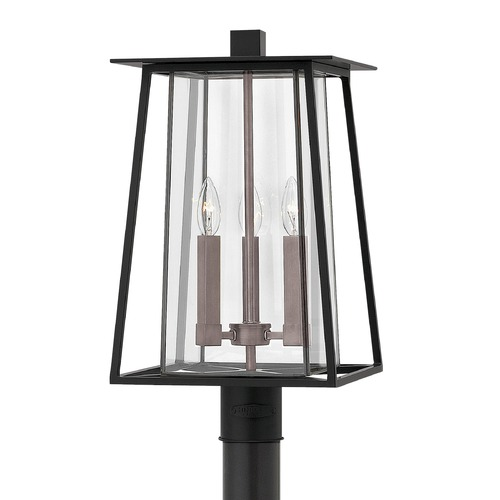 Hinkley Lighting Black Post Light by Hinkley Lighting 2101BK