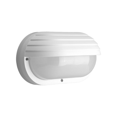 Progress Lighting Progress Outdoor Wall Light with White in White Finish P7339-30EBWB
