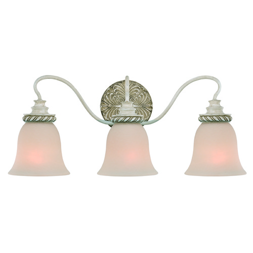 Jeremiah Lighting Jeremiah Zoe Antique Linen Bathroom Light 27303-ATL