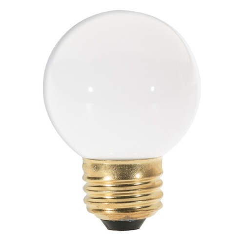 Satco Lighting Incandescent G16.5 Light Bulb Medium Base Dimmable S4541