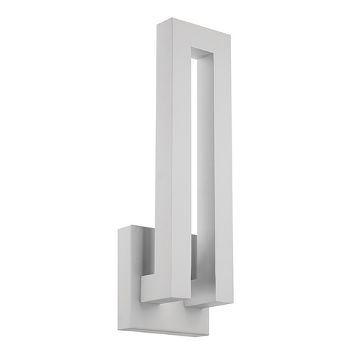 Modern Forms by WAC Lighting Modern Forms Forq White LED Outdoor Wall Light WS-W1718-WT