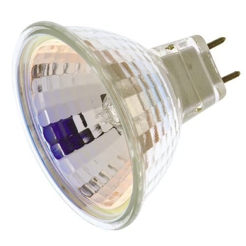 Satco Lighting MR-16 Halogen Light Bulb Bi-Pin Flood 36 Degree Beam Spread 2900K 120V Dimmable S3445