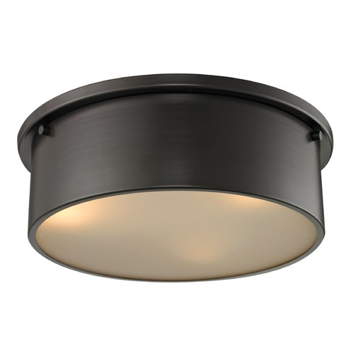 Elk Lighting Elk Lighting Simpson Oil Rubbed Bronze Flushmount Light 11811/3