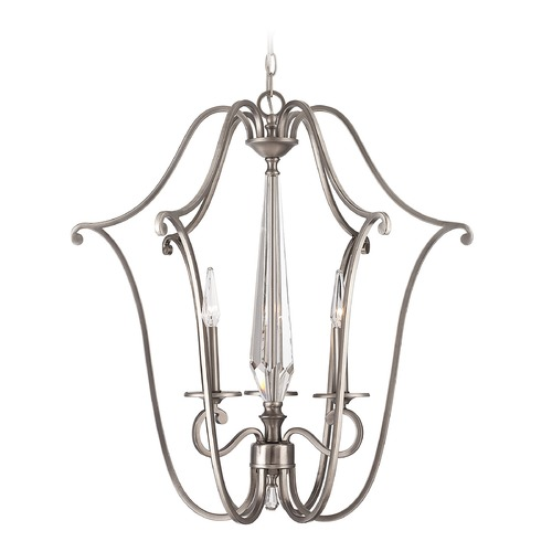 Savoy House Savoy House Lighting Kendall Vintage Nickel Pendant Light 3-382-3-43