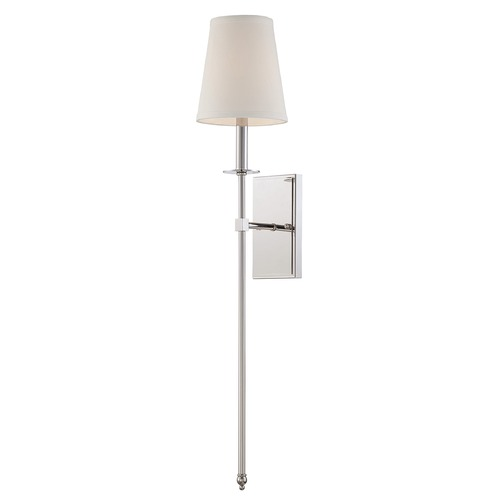 Savoy House Savoy House Polished Nickel Sconce 9-7144-1-109