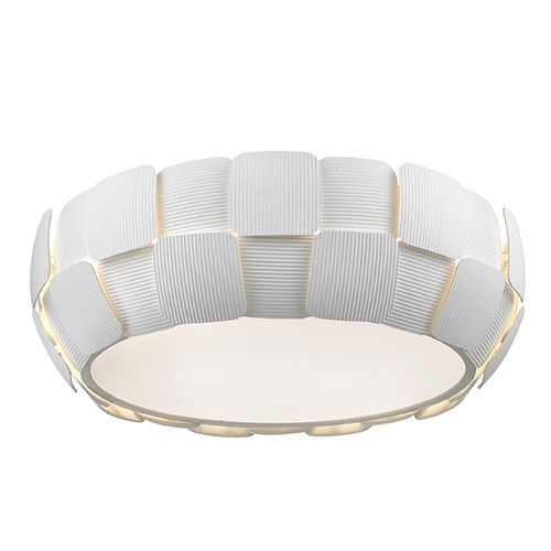 Access Lighting Access Lighting Layers White Flushmount Light 50901-WH/WH