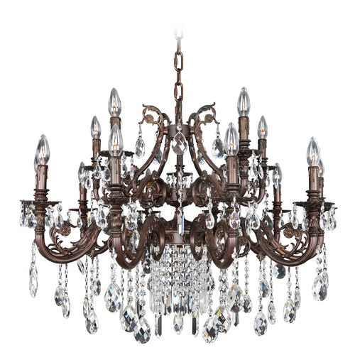 Allegri Lighting Avelli 15 Light Crystal Chandelier 025651-013-FR001