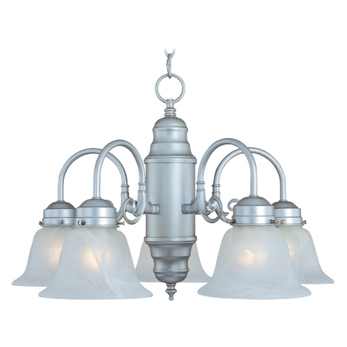 Maxim Lighting Maxim Lighting Builder Basics Satin Nickel Chandelier 91197MRSN