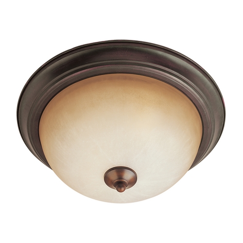 Maxim Lighting Maxim Lighting Essentials Oil Rubbed Bronze Flushmount Light 5849WSOI