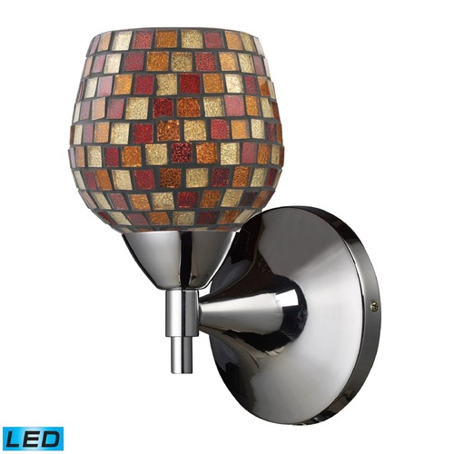 Elk Lighting Elk Lighting Celina Polished Chrome LED Sconce 10150/1PC-MLT-LED