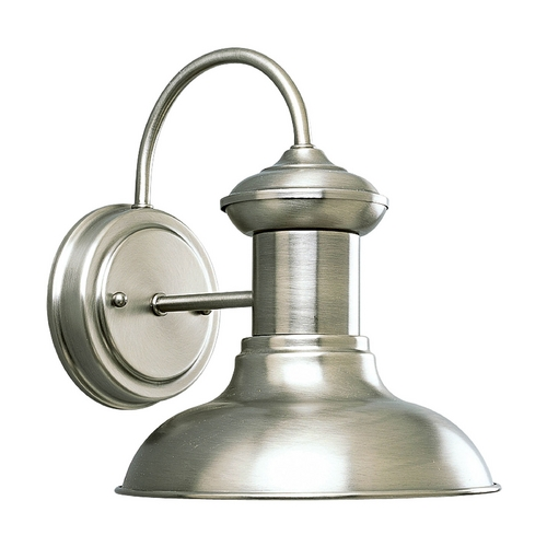 Progress Lighting Progress Outdoor Wall Light in Antique Nickel Finish P5721-81