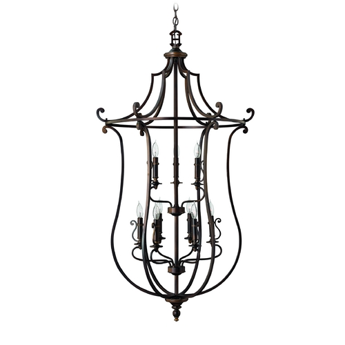 Hinkley Lighting Pendant Light in Olde Bronze Finish 4259OB