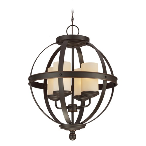Sea Gull Lighting Sea Gull Lighting Sfera Autumn Bronze Mini-Chandelier 3190404-715