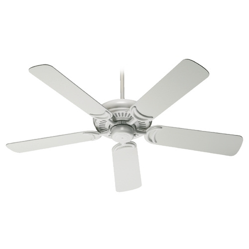 Quorum Lighting Quorum Lighting Venture Studio White Ceiling Fan Without Light 79525-8