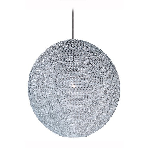 Maxim Lighting Maxim Lighting Twisp Polished Chrome Pendant Light with Globe Shade 12195PC